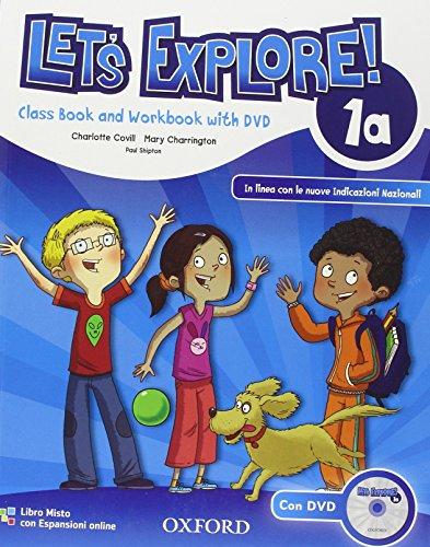 9780194019248: Let's explore. Student's book-Workbook. Con espansione online. Per la Scuola elementare. Con DVD-ROM: 1