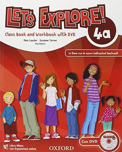 9780194019477: Let's explore. Student's book-Workbook. Con espansione online. Per la Scuola elementare. Con DVD-ROM: 4