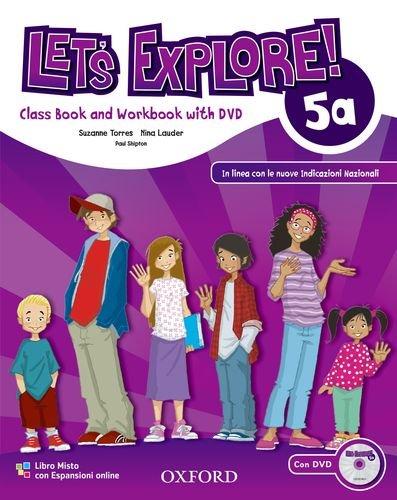 9780194019507: Let's explore. Student's book-Workbook. Per la Scuola elementare. Con DVD-ROM. Con espansione online: 2