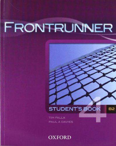 9780194023535: Frontrunner 4: Student's Book with Multi-ROM Pack