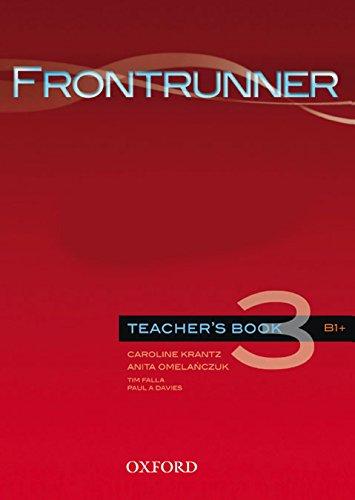 9780194023672: Frontrunner Teacher's Book 3 B1+