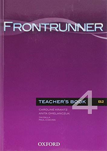 9780194023689: Frontrunner 4: Teacher's Book