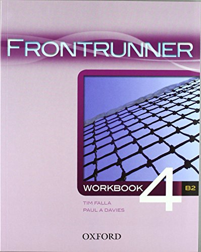 9780194023733: Frontrunner 4: Workbook