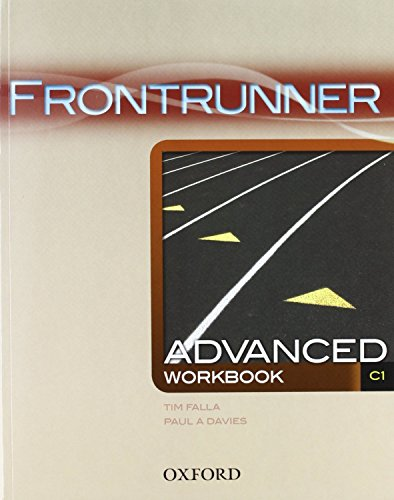 9780194023740: Frontrunner Advanced: Workbook
