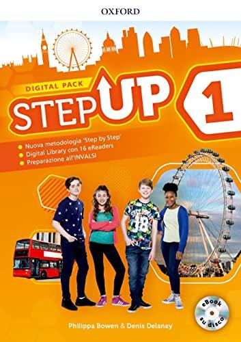 9780194024495: Step up. Student's book-Workbook. Con Studyapp, Mind map, 16 eread, hub. Per la Scuola media. Con ebook. Con espansione online. Con DVD-ROM [Lingua inglese]