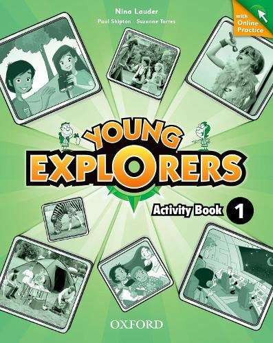 9780194026406: Young Explorers: Level 1: Activity Book with Online Practice