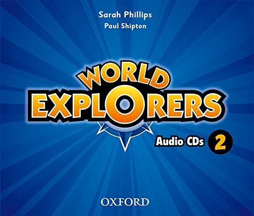 9780194027762: World Explorers: Level 2: Class Audio CDs