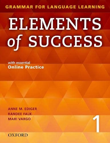 9780194028202: Elements of Success 1 Student Book with Essential Online Practice