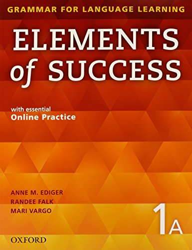 9780194028219: Elements of Success Student Book 1A