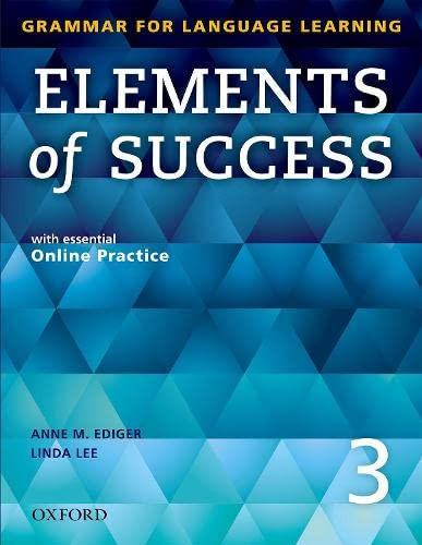 Elements Of Success: 3: Student Book With