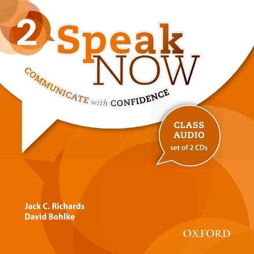 9780194030137: Speak Now: 2: Class Audio CDs