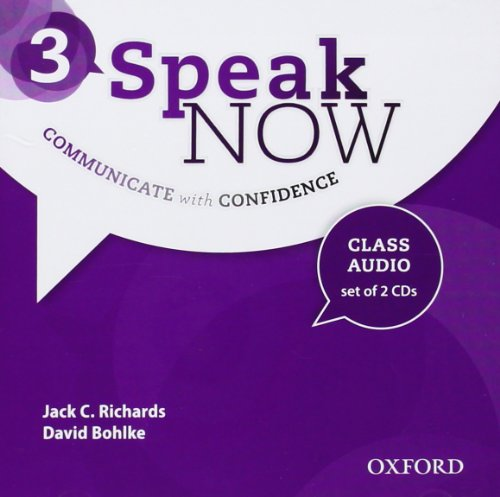 9780194030144: Speak Now: 3: Class Audio CDs