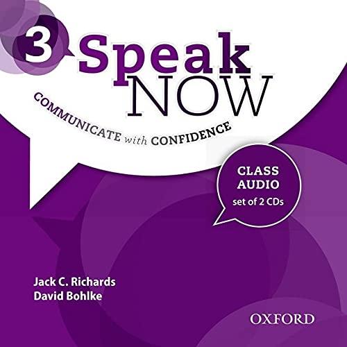 9780194030144: Speak Now: 3: Class Audio CDs