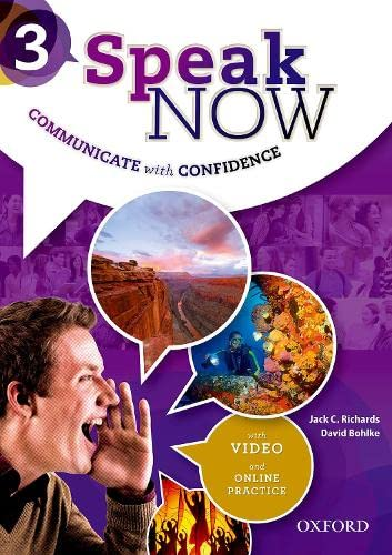 9780194030175: Speak Now: 3: Student Book with Online Practice