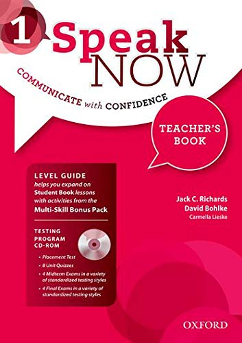 9780194030182: Speak Now: 1: Teacher's Book with Testing CD-ROM