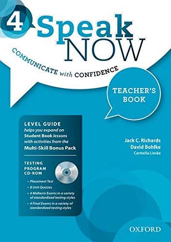 9780194030403: Speak Now 4: Teacher's Book Pack