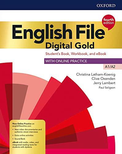 9780194031370: English file Digital gold A1-A2. Student's book. Woorkbook. Per le Scuole superiori. Con e-book. Con espansione online