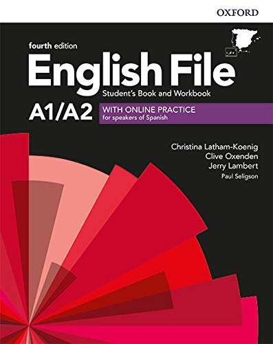 9780194031394: English File 4th Edition A1/A2. Student's Book and Workbook without Key Pack (English File Fourth Edition)