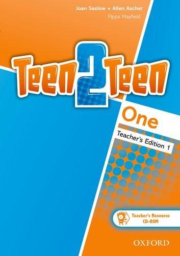 9780194034128: Teen2Teen: One: Teacher Pack