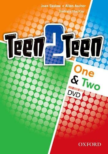 Teen2teen: One Two: DVD: Joan M. Saslow, Allen Ascher, Barbara Mackay