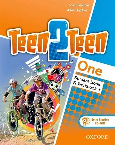 9780194034616: Teen2Teen: One: Student Book & Workbook with CD-ROM