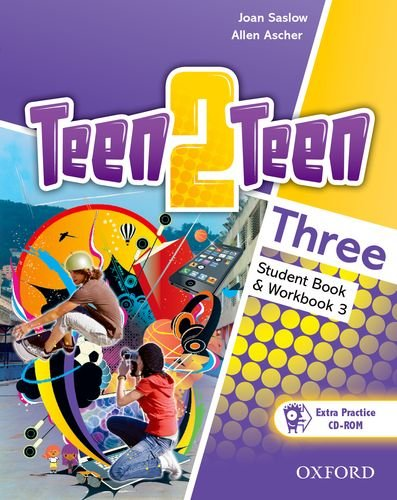 9780194034685: Teen2teen: Three: Student Book and Workbook with CD-ROM