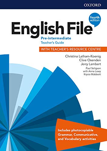 9780194037563: English File: Pre-Intermediate: Teacher's Guide with Teacher's Resource Centre