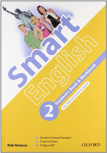 9780194043113: Smart english. Student's book-Workbook-Culture book. Per la Scuola media. Con CD Audio. Con CD-ROM. Con espansione online: 2