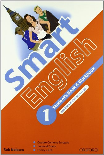 9780194043137: Smart english. Starter book. Student's book-Workbook-Culture book. Per la Scuola media. Con CD-ROM. Con espansione online: 1