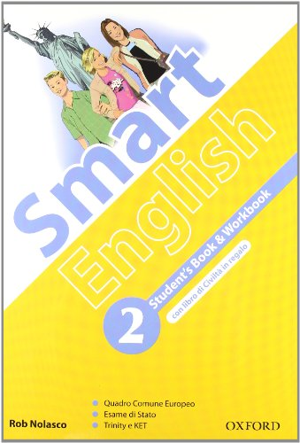 9780194043557: Smart english. Student's book-Workbook-Culture book. Con espansione online. Con CD Audio. Per la Scuola media: 2