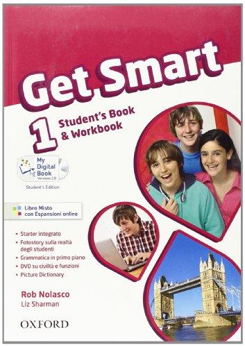 9780194044127: Get smart. Student's book-Workbook. Per la Scuola media. Con espansione online: 1