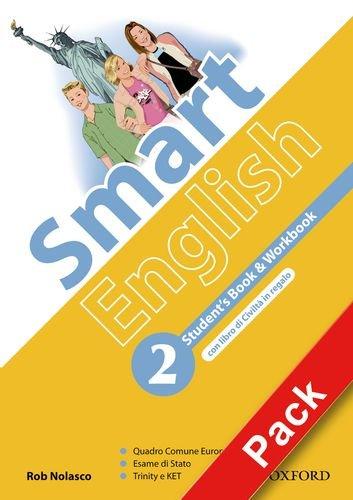9780194044622: Smart English. Student's book-Workbook-Culture book-My digital book. Per la Scuola media. Con CD-ROM. Con espansione online: 2