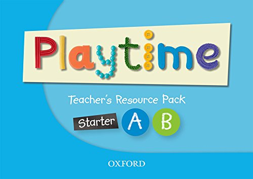 9780194046794: Playtime: Starter, A & B: Teacher's Resource Pack: Stories, DVD and play- start to learn real-life English the Playtime way!