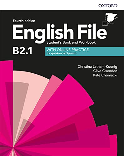 9780194058247: English File 4th Edition B2.1. Student's Book and Workbook with Key Pack (English File Fourth Edition)