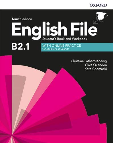 9780194058247: English File 4th Edition B2.1. Student's Book and Workbook with Key Pack
