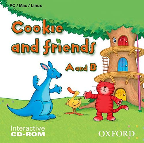 9780194070232: Cookie and Friends CD-ROM