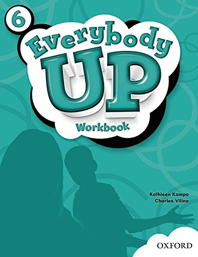 Everybody Up: 6: Workbook: 6 (Paperback): Kathleen Kampa, Charles Vilina