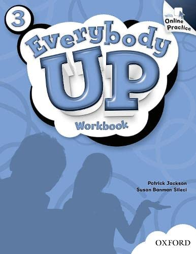 9780194105552: Everybody Up: 3: Workbook with Online Practice