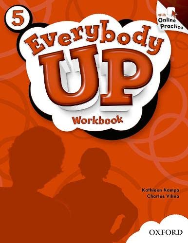 9780194105576: Everybody Up: 5: Workbook with Online Practice