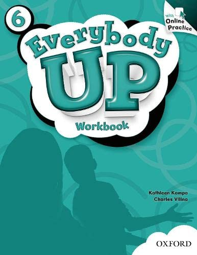 9780194105583: Everybody Up: 6: Workbook with Online Practice