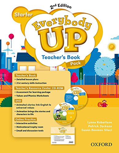 9780194106986: Everybody Up: Starter Level: Teacher's Book Pack with DVD, Online Practice and Teacher's Resource Center CD-ROM: Linking your classroom to the wider world
