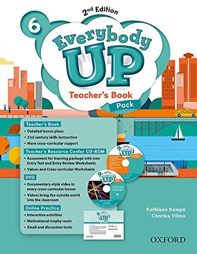 9780194107044: Everybody Up! 6. Teacher's Book W/DVD& Online Practice Pack 2nd Edition (Everybody Up 2nd Edition)