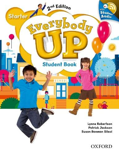9780194107051: Everybody Up: Starter Level: Student Book with Audio CD Pack: Linking your classroom to the wider world