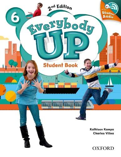 9780194107129: Everybody Up! 2nd Edition 6. Student's Book with CD Pack