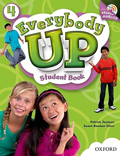 9780194107372: Everybody Up 4: Student's Book with Audio CD Pack