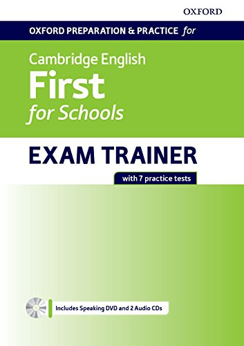 cambridge first trainer  Oxford Preparation & Practice for Cambridge English: First for ...