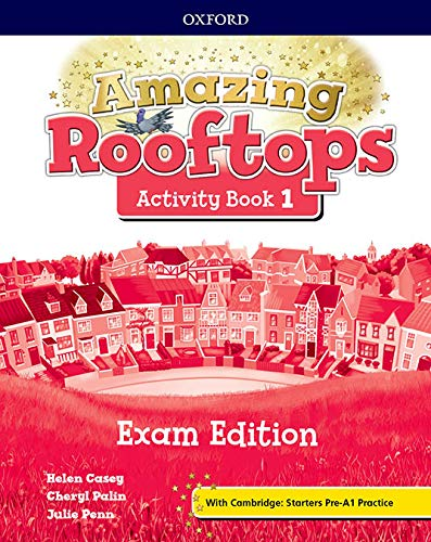 9780194121422: Amazing Rooftops 1. Activity Book Exam Edition