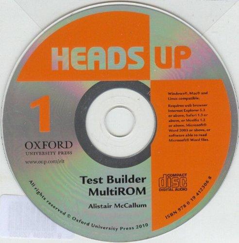 9780194123068: Heads Up: 1: Test Builder MultiROM