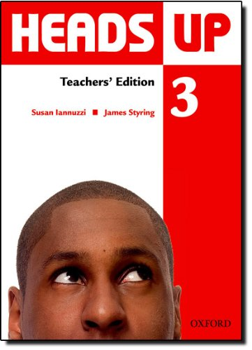 9780194123150: Heads Up: 3: Teacher's Edition of the Student Book