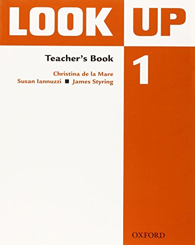 9780194123525: Look Up: Level 1: Teacher's Book: Confidence Up! Motivation Up! Results Up!